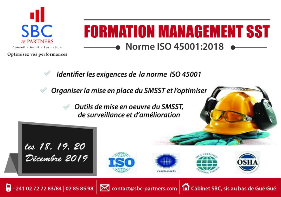 Formation management SST SBC